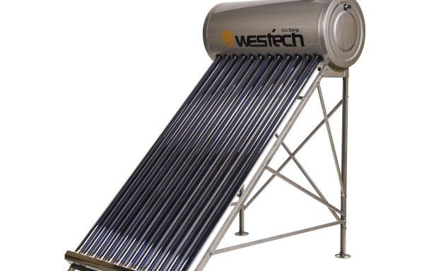 Panou solar nepresurizat cu boiler încorporat