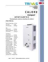 2. Instant calore TN 11