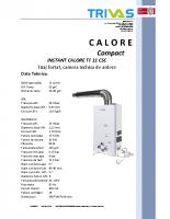 4. Instant calore TF 11 CSC
