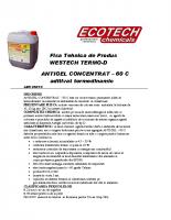 Fisa Tehnica ANTIGEL -60 C