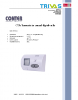 Termostat Conter CT3s